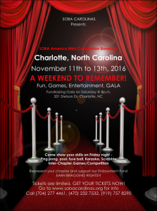 carolinas miniconvention flyer
